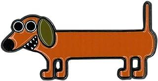 "Dachshund Enamel Pin - Novelty Funny Gotta love a Dachshund - Premium Quality Cute Enamel Lapel PIN - 1"" x 1.5"""