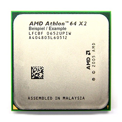 AMD Athlon 64 X2 4000+ 2.1GHz/1MB Sockel/Socket AM2 ADO4000IAA5DD Processor CPU (Generalüberholt)