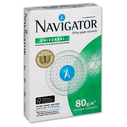 Navigator-Carta universale formato A4, 80 g/m², confezione da 550 Ref COP080C1550]