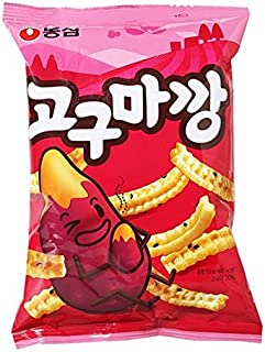[NongShim] Original Korean Ver_Sweet Potato Snack, 83g (Pack of 3)