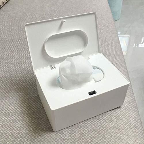 Guiping Caja de pañuelos húmedos de escritorio sello de toallitas de bebé dispensador de papel servilleta soporte de almacenamiento tapa