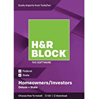 Deals on H&R Block 2018 Tax Software On Sale from $14.97