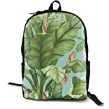 Banana Leaf Backpacks Novelty Men