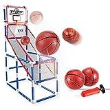 YQZ Juego de Arcade de Baloncesto de un Solo Tiro, Mini Sistema de Tiro de Baloncesto de Juguete, Juego de Entrenamiento de Baloncesto para Interiores, Juego de Juegos para Fiestas al Aire Libre