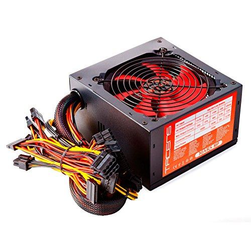 Mars Gaming MPII650, Fuente De Alimentación Para Ordenador, ATX, SATA, 650W, Rojo