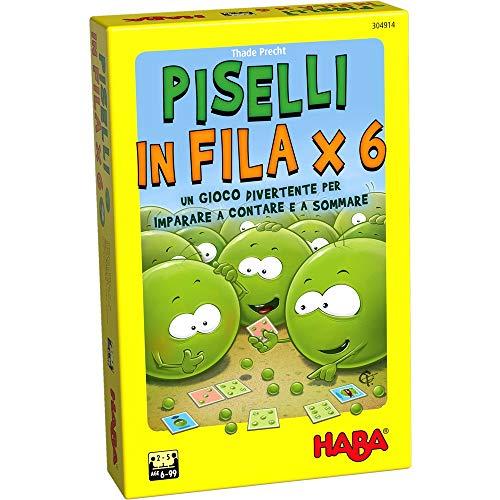HI Piselli in Fila X 6 Juego de mesa en italiano