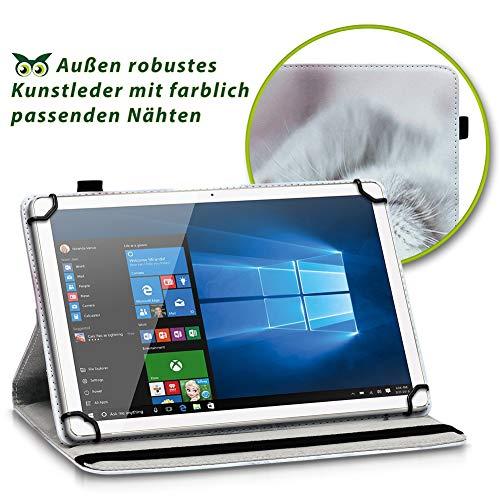 NAUC Tablet Hülle kompatibel für Lenovo Tab 2 A10-70 Tasche Schutztasche Cover Schutz Case 360° Drehbar Etui hochwertiges Kunst-Leder, Farben:Motiv 10