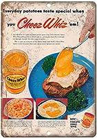 Kraft Cheez Whiz ティンサイン ポスター ン サイン プレート ブリキ看板 ホーム バーために