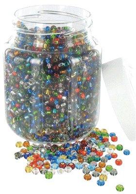 Perles Cassis (roc 5°) Metal Brillant - Bocal De 500g [Jouet]
