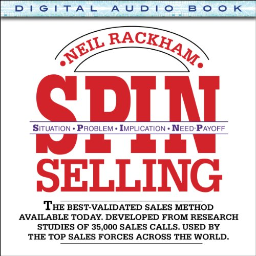 SPIN Selling audiobook cover art
