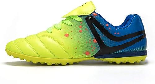 LYLZR Chaussures de Football en Plein air pour Hommes Hommes Chaussures de Crampons de Football en Plein air Chaussures d'entraîneHommest de paniers de Sport  la meilleure offre de magasin en ligne