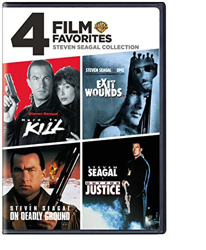 4 Film Favorites: Steven Seagal Action / (Ws) [DVD] [Region 1] [NTSC] [US Import]
