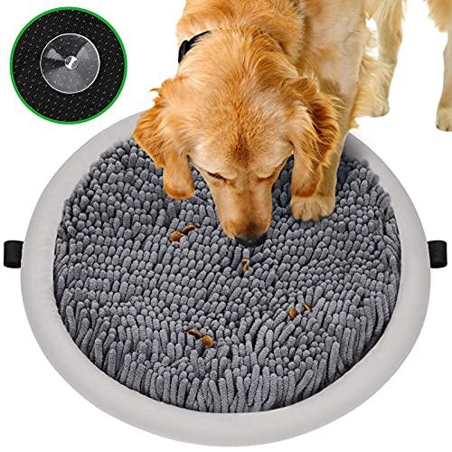 YOUTHINK Alfombra Olfativa Perros, Snuffle Mat para Perros con 4 Ventosas, Alfombrilla de Alimentación Interactiva Fomenta Las Habilidades de Búsqueda Natural y El Alivio del Estrés