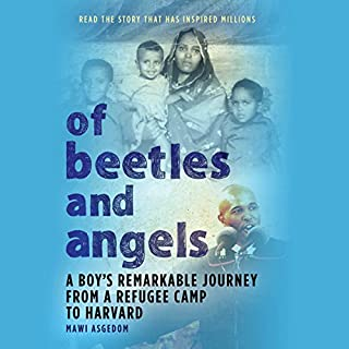 Of Beetles and Angels audiobook cover art