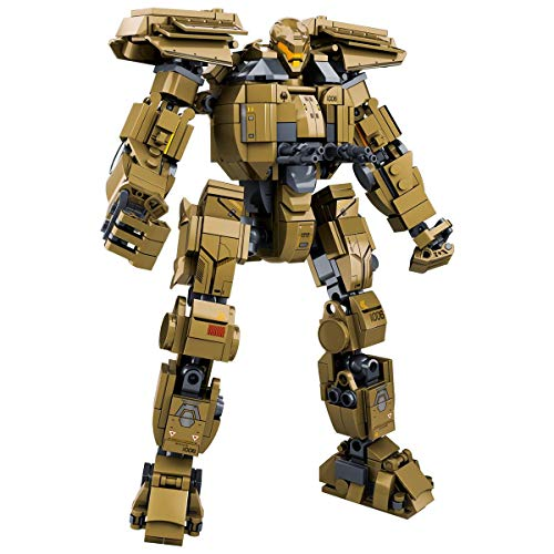 LionMoc Moc Creator Mech - 'Pacific Rim' DIY Mecha Building Block Bricks Machine Toy Compatible with Lego Building Set (Bracer Phoenix)