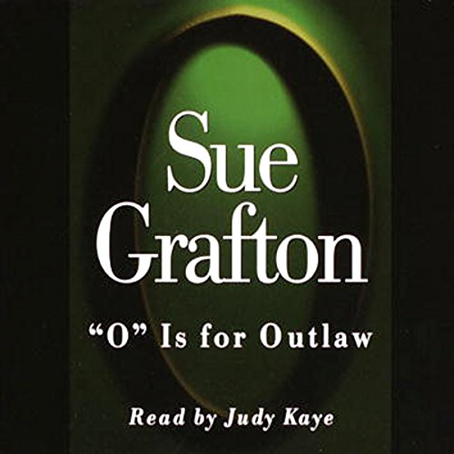 O is for Outlaw audiobook cover art