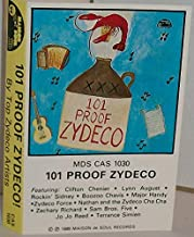 101 Proof Zydeco - 1989 Cassette Tape