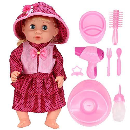 Muñeca de juguete, Muñeca eléctrica de juguete, Muñeca de juguete, Niñas Niños para niños Regalo Niños(SY011-6 color box version)