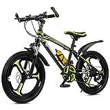 OFFA Bicicletas De Montaña De Niñas, Bicicletas para Niños 20 22 Ruedas De 24 Pulgadas Variable De 21 Velocidades Bicicleta Speed Mountain para 6-15 Años, Niños Girls Regalos De Cumpleaños