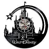 Walt Disney Horloge murale en vinyle superbe idée de cadeau de Noël