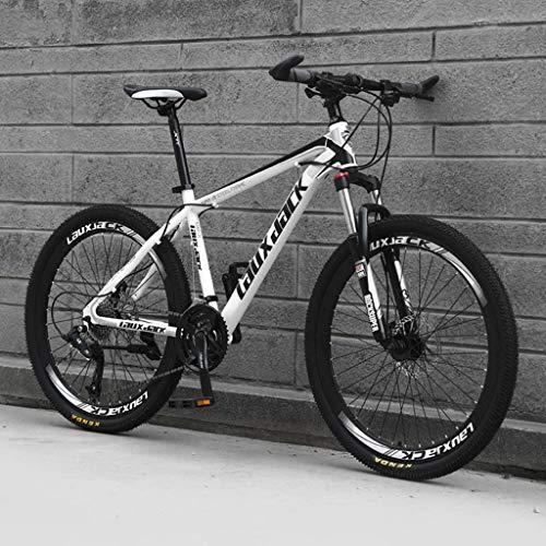 zxcvb 21/24/27 Speed  Bike All-Terrain rower górski 26 cali, lekki przenośny rower dla dorosłych, studentów, rower górski typu hardtail ze stali węglowej