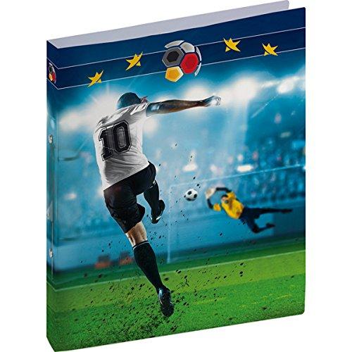 BRUNNEN Ringbuch A4 PP 2Rg 16mm Fußball