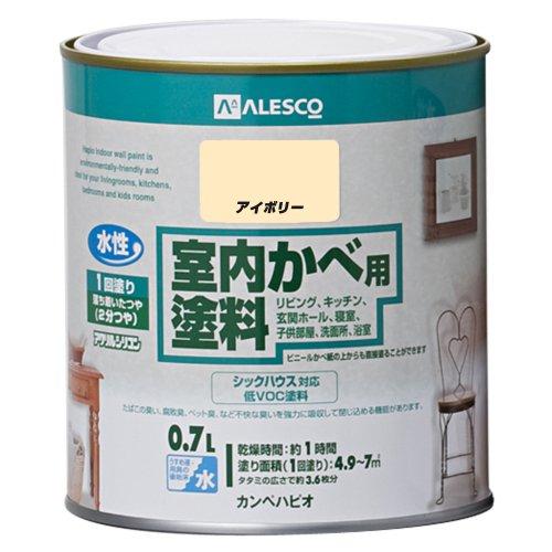 カンペハピオ室内かべ用塗料アイボリー0.7L