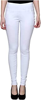 KIBA RETAIL Women's Plain Jegging Comfortable and Stretchable Casual Wear Jegging