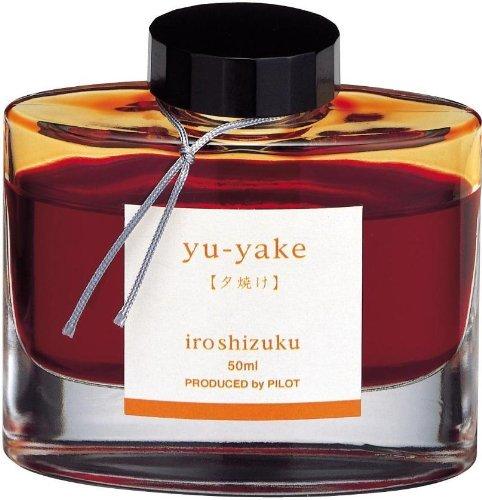 Namiki Iroshizuku Füllfederhalter-Tinte, Chiku-rin burnt orange