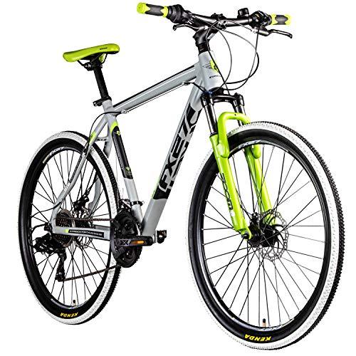 Zündapp Mountainbike 650B Hardtail MTB 27,5 Zoll FX27 Fahrrad 21 Gänge Shimano (grau, 48 cm)