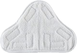 Bluwhale 6 Pack Microfibre Steam Mop Pads Floor Washable Replacement Pads Compatible with H2O H20 X5
