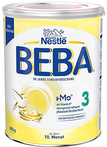 Nestlé BEBA 3 Folgemilch, Folgenahrung ab dem 10. Monat, 1 x 800g
