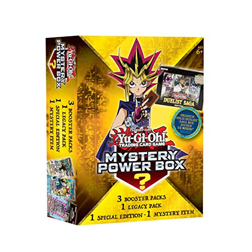 Yu-Gi-Oh! Trading Cards Value Box 6 - Premium Gold/Duelist Saga Seeded 1: 2 Box | 3 Booster Pack | Factory Sealed Pack