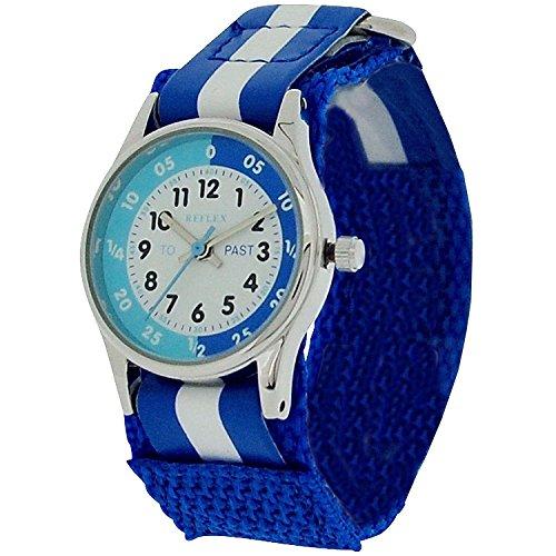 Reflex Unisex Kinder Analog Quarz Uhr mit Stoff Armband REFK0001