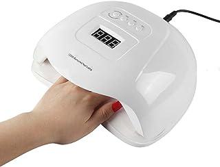 Cfbcc 120W Llevado Ultravioleta del Clavo del secador de la lámpara de uñas for manicura Pecicure Herramientas Pantalla LCD 30/10/60 / 99S de Infrarrojos de detección
