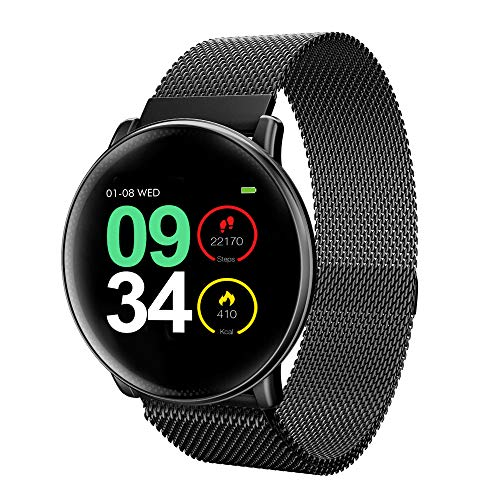 UMIDIGI Smart Watch Uwatch2 Fitness Tracker,with All-Day Heart Rate & Activity Tracking, Sleep Monitoring, IP67,Ultra-Long Battery Life, Smartwatch for Men Women Compatible with iPhone Samsung