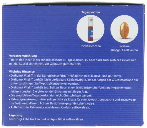 Orthomol Vital F Bottles, 30 Pieces, 1 Pack (1 x 720 g)
