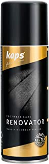 Kaps Renovator – Nubuck, Suede & Velour Leather Spray – Color Renew, Restoration & Care – Revive Revitalize Shoes & Bags - Many Colors - Made in Europe