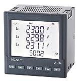 LUMEL ND20Lite - Analizador de red multifunción (3 fases, parámetros de red de 96 x 96 mm, entrada x/1 A, x/5 A, entrada universal de tensión y corriente 3 x 57,7/100 V, 3 x 69,3/120 V, 3 x 230/400 V)