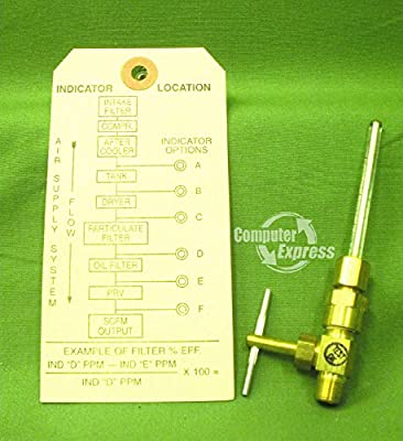 Johnson Controls A-4000-120 Oil Indicator with Needle Valve from Johnson Controls Inc