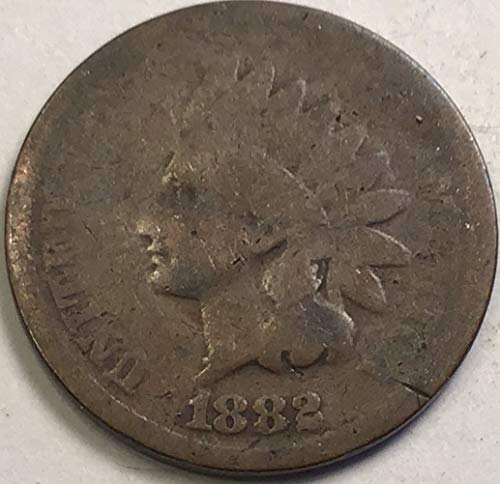1882 Indian Head Penny About Good