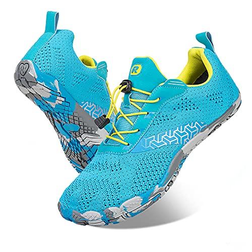 Rotok Zapatos de natación para hombre y mujer, para baño, playa, agua, surf, color Azul, talla 44 EU