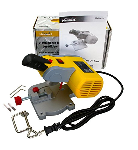 Hercules Mini Benchtop Cut-Off Miter Saw for Hobby Crafts (Mini Cut-Off Saw)