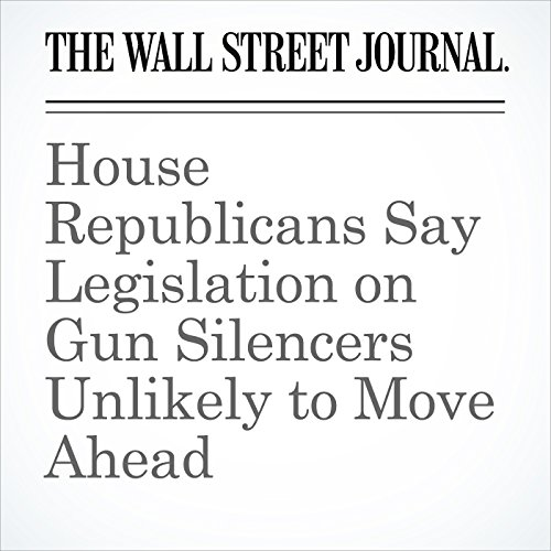 House Republicans Say Legislation on Gun Silencers Unlikely to Move Ahead copertina