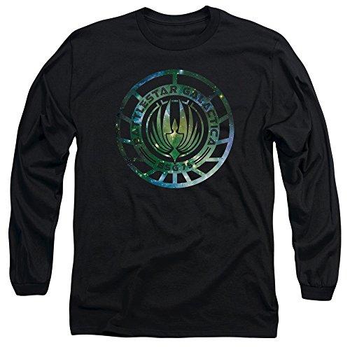 Nuovo Galaxy Emblema Camicia a Maniche Lunghe