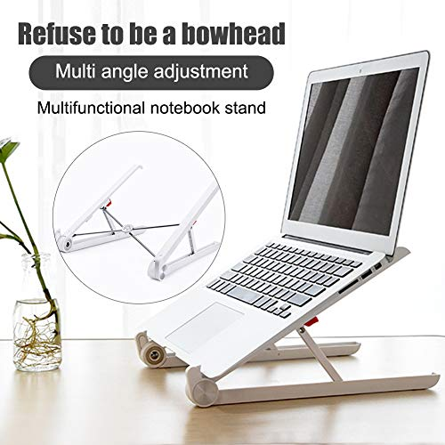 BHYS Laptop Stand for Laptop, Portable Adjustable Laptop Stand, Foldable Desktop Notebook Holder Mount for iM ac/Laptop&11 inches -15.6 inches