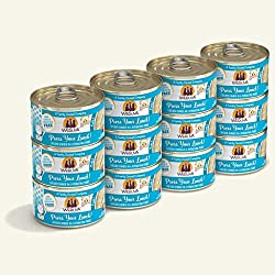 commercial Huelva Classic Cat Putty, let's squeeze lunch! 3 oz cans with chicken (12 packs) weruva cat food