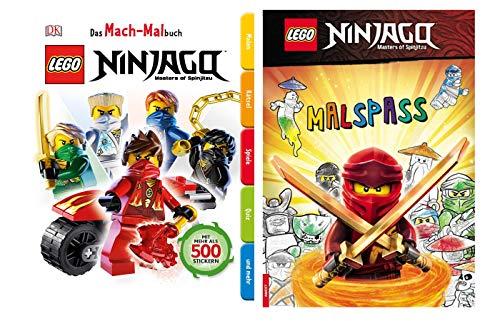 Buchspielbox Lego Ninjago - Juego de libro para colorear y divertirse