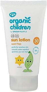 Green People Sun Lotion fragancia de protección de menores de factor 25 150 ml