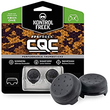 KontrolFreek FPS Freek CQC for Xbox One and Xbox Series X Controller | Performance Thumbsticks | 2 Mid-Rise Concave | Black